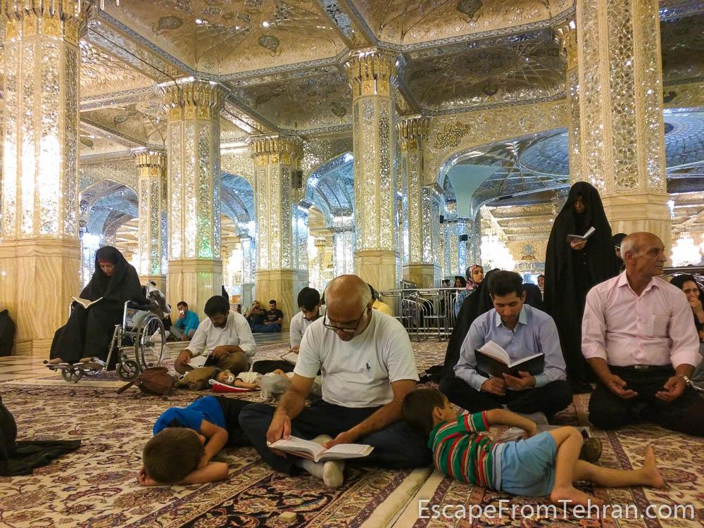 Iman Reza Shrine Dar-al Hojjeh, Mashhad, Iran