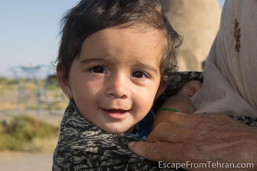 Child at the Village of Zafaraniyeh, near Sabzevar, Iran