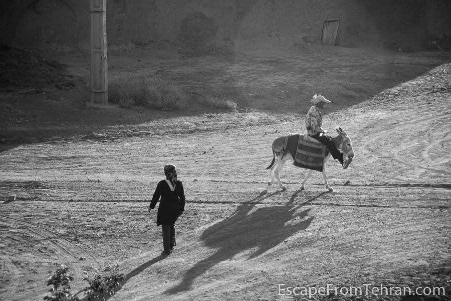 The dying Iranian village of Zafaraniyeh