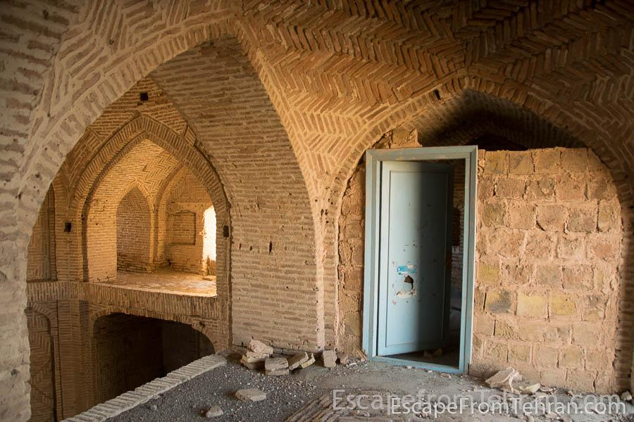 Tragedy at caravanserai of zafaraniyeh