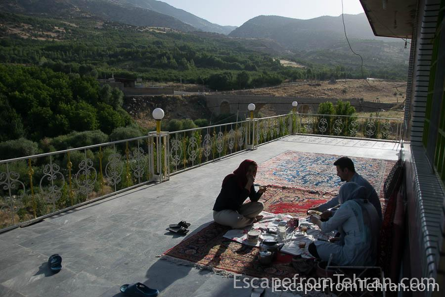Morning in Kakareza, Lorestan, Iran