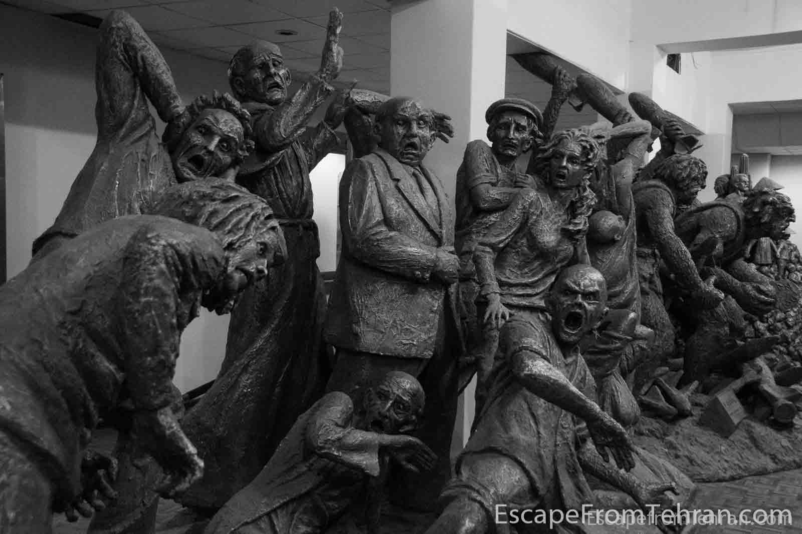 Sculptor Ahad Hosseini, Tabriz Museum, Tabriz, iran