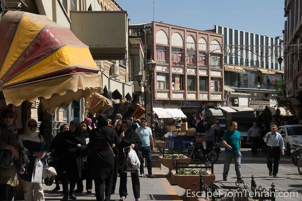 Tarbiat Street, Tabriz, East Azerbaijan, Iran