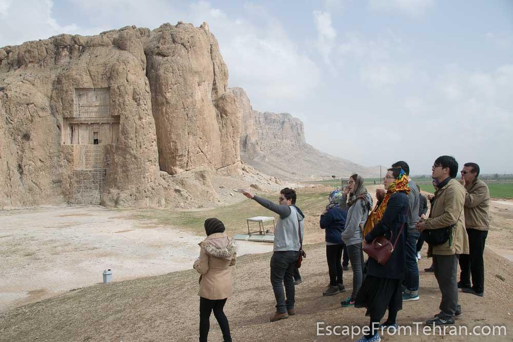 Naqsh-e Rustam (Necropolis), near Persepolis, near Shiraz, Iran
