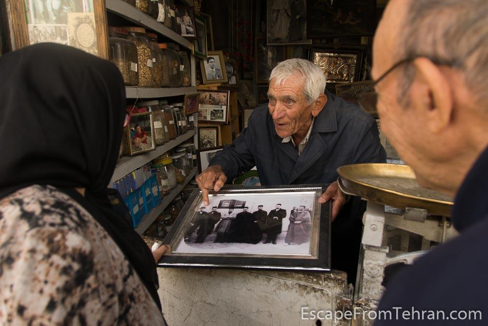 Mostafa Rahemi, Attari (Persian traditional medicine man) in Shiraz