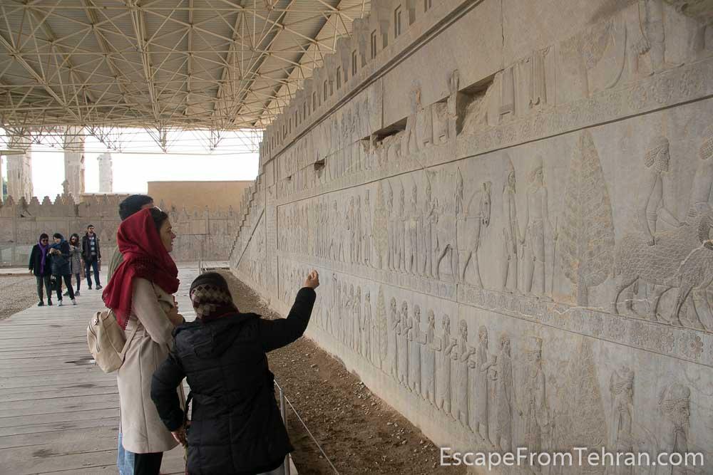 Persepolis, near Shiraz, Iran