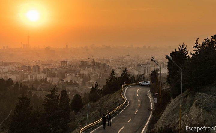Tehran's Lavizan Forest Park Offers Stunning Views of the City