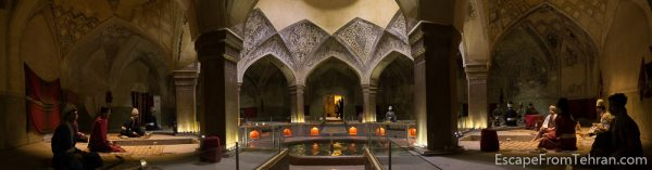 Vakil Historical Bath, Shiraz, Iran