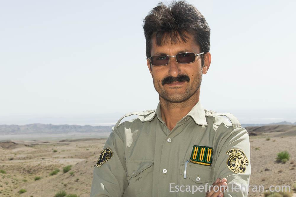 Mohammad Reza Hassankhani, Ranger At Naybandon Wildlife Refuge,