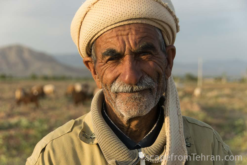 Aliakbar Dandashti, Shepherd From The Village Of Kardak E Khajer