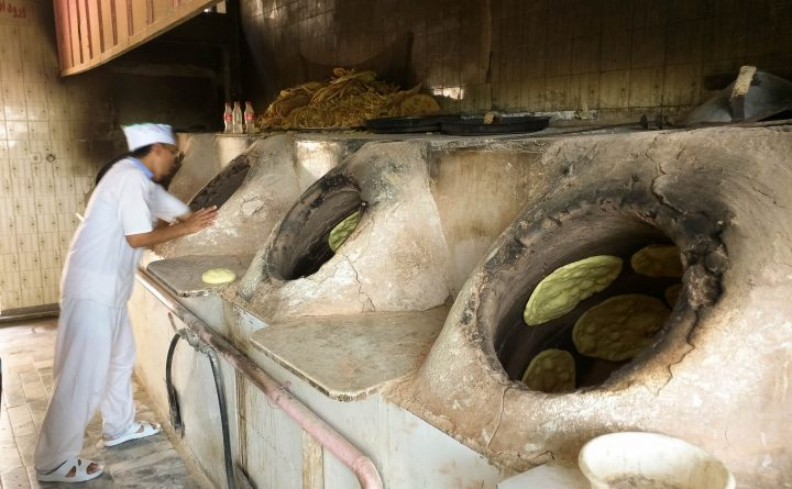 Nanvaii (breadmaking Shop) In Central Mashhad, Iran