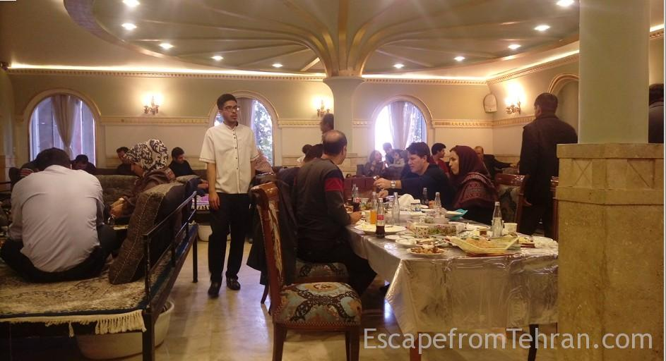 Eram Restaurant Shandiz Mashhad