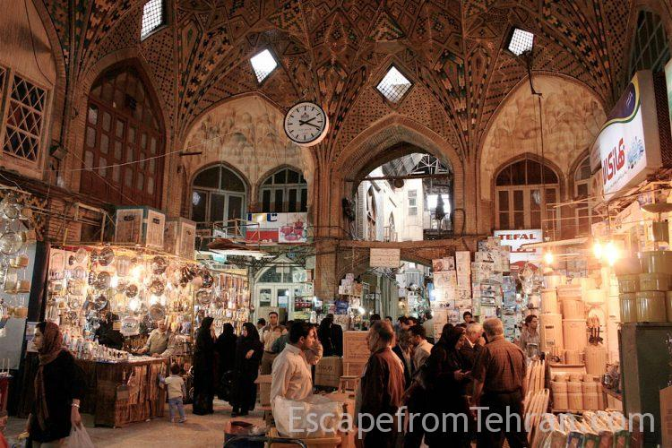 The Grand Bazaar Tehran 813 750x500