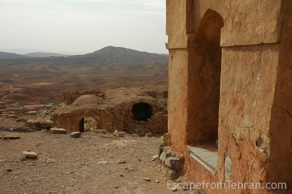 Baba langar historical sites, near sabzevar, iran