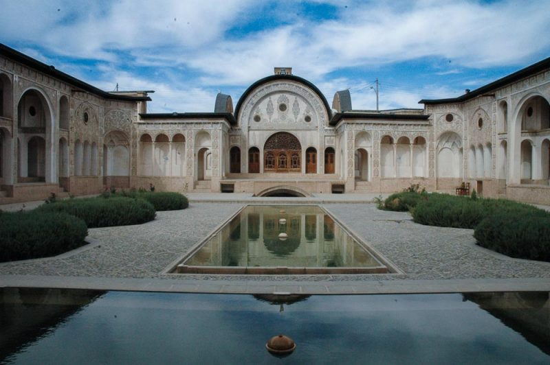 The 195 year old tabatabi house, kashan, iran
