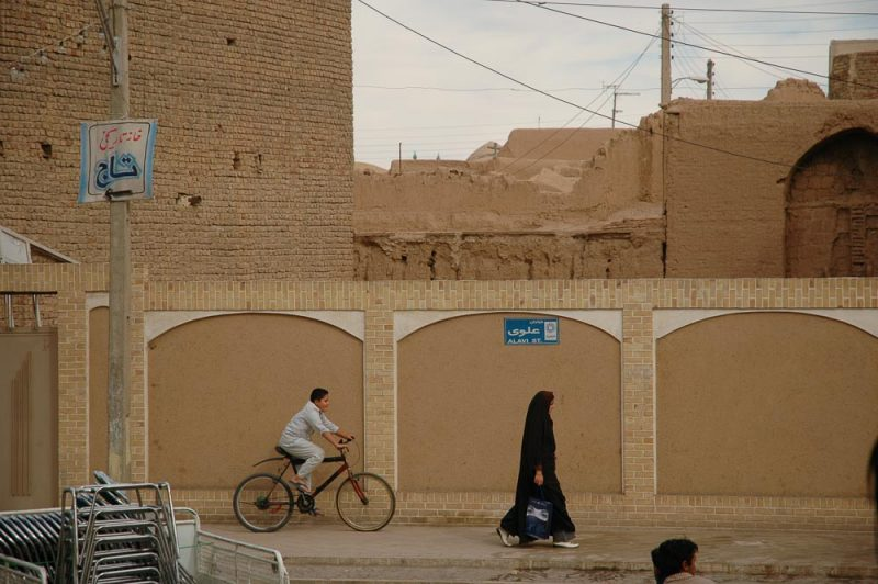 scene from the Sultan Amir Ahmad neighborhood, filled with many other valuable properties awaiting restoration. Historical sites in kashan, iran (2006)