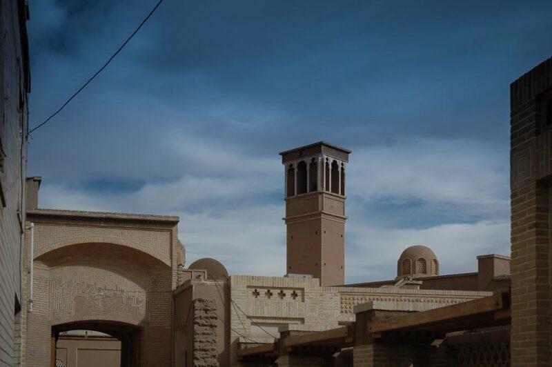 Historical sites in kashan, iran (2006)