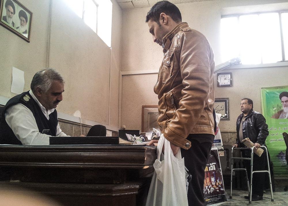 Police Colonel Hussein Davari, Mashhad, Iran